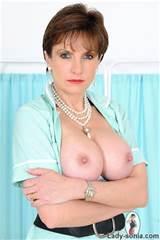 Stunning big tits british milf nurse gives handjob from Lady Sonia