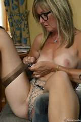 British MILF Strip Tease