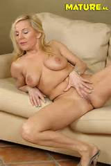 Blonde mature slut fucking her younger loveslave from Mature NL