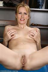 Blonde fitness MILF Waina spreads her goods from All Over 30