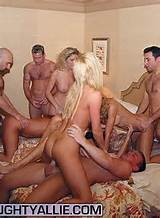 ... the picture for a hot gallery featuring an orgy with Naughty Allie