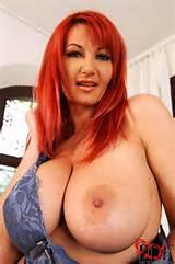DDF Busty Redhead Big Tits MILF 14 picture